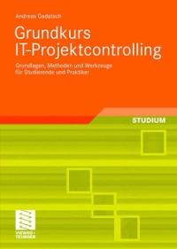 Cover Grundkurs IT-Projektcontrolling