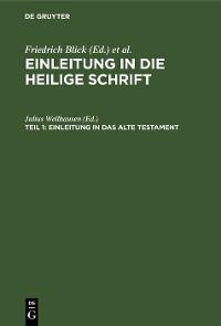 Cover Einleitung in das Alte Testament
