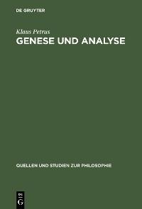 Cover Genese und Analyse