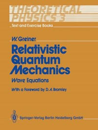Cover Relativistic Quantum Mechanics