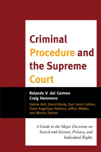 Cover Criminal Procedure and the Supreme Court