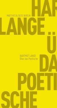 Cover Über das Poetische
