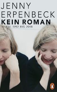 Cover Kein Roman