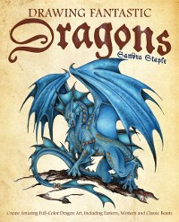 Cover Drawing Fantastic Dragons