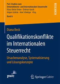 Cover Qualifikationskonflikte im Internationalen Steuerrecht