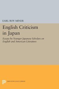 Cover English Criticism in Japan