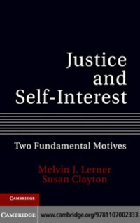 Cover Justice and Self-Interest