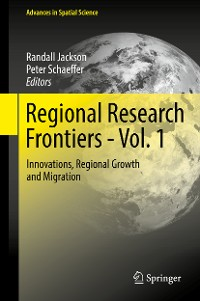 Cover Regional Research Frontiers - Vol. 1