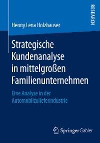 Cover Strategische Kundenanalyse in mittelgroßen Familienunternehmen