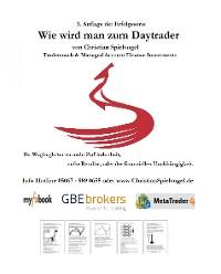 Cover Wie wird man Daytrader 3. Auflage