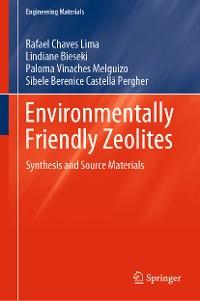 Cover Environmentally Friendly Zeolites