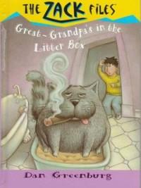 Cover Zack Files 01: My Great-grandpa's in the Litter Box