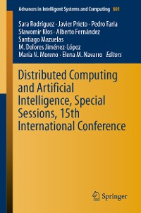 Cover Distributed Computing and Artificial Intelligence, Special Sessions, 15th International Conference