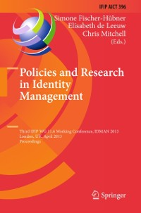 Cover Policies and Research in Identity Management