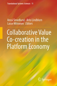 Cover Collaborative Value Co-creation in the Platform Economy