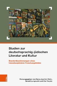 Cover Studien zur deutschsprachig-jüdischen Literatur und Kultur