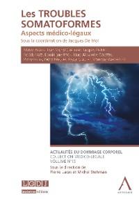 Cover Les troubles somatoformes
