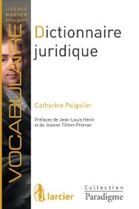 Cover Dictionnaire juridique