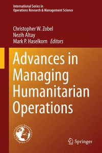Cover Advances in Managing Humanitarian Operations