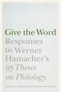 Cover Give the Word