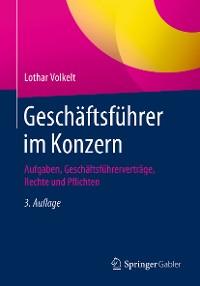Cover Geschäftsführer im Konzern