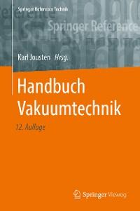 Cover Handbuch Vakuumtechnik