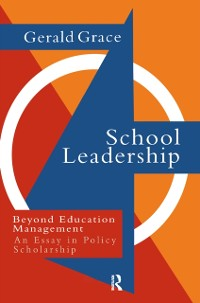 Cover School Leadership