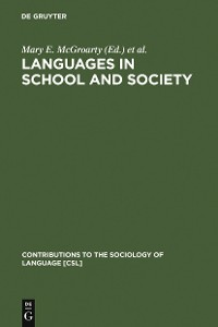 Cover Languages in School and Society