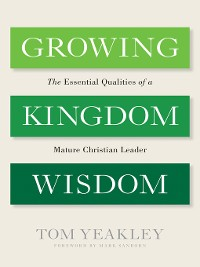 Cover Growing Kingdom Wisdom