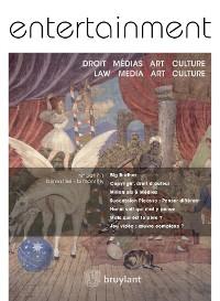 Cover Entertainment - Droit, Médias, Art, Culture 2017/1