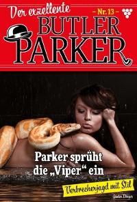 Cover Der exzellente Butler Parker 13 – Kriminalroman
