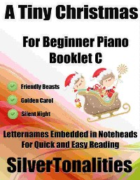 Cover A Tiny Christmas for Beginner Piano Booklet C