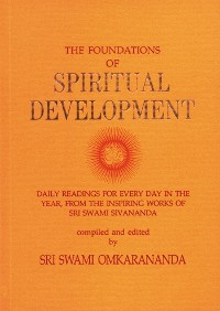 Cover The Foundations of Spiritual Development