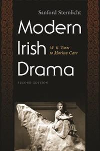 Cover Modern Irish Drama