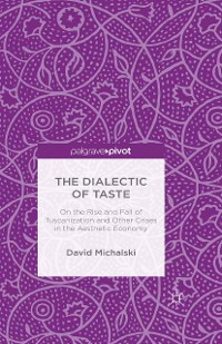 Cover The Dialectic of Taste
