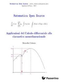 Cover Applicazioni del Calcolo differenziale alla cinematica monodimensionale