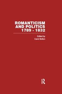 Cover Romanticism & Politics 1789-1832