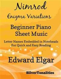 Cover Nimrod Enigma Variations Beginner Piano Sheet Music