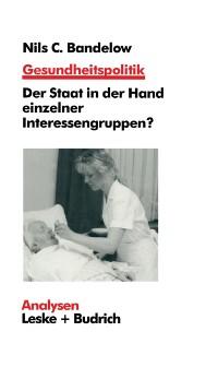 Cover Gesundheitspolitik