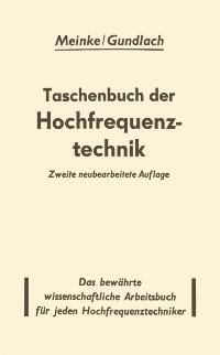 Cover Taschenbuch der Hochfrequenztechnik