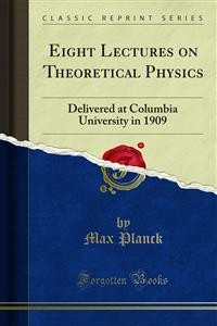 Cover Eight Lectures on Theoretical Physics