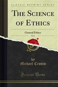 Cover The Science of Ethics