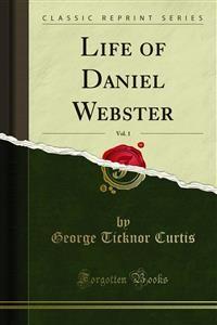 Cover Life of Daniel Webster