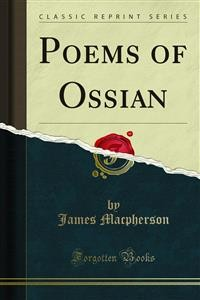 Cover Poems of Ossian