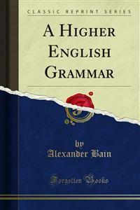 Cover A Higher English Grammar