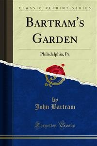 Cover Bartram's Garden