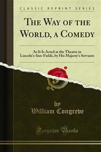 Cover The Way of the World, a Comedy