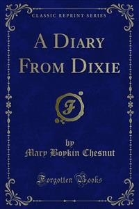 Cover A Diary From Dixie