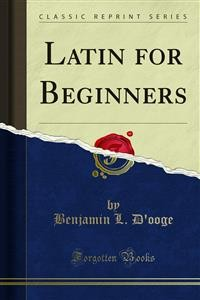 Cover Latin for Beginners