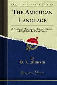 Cover The American Language